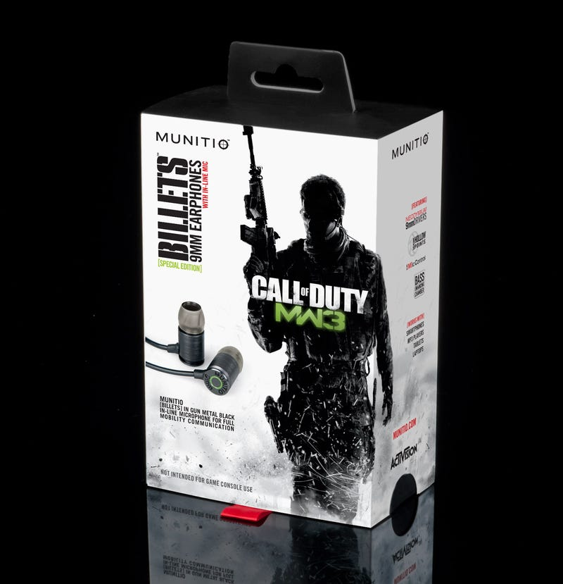 Subtle Branding, Sensory Overload; This is What I Want in Modern Warfare 3 Earbuds