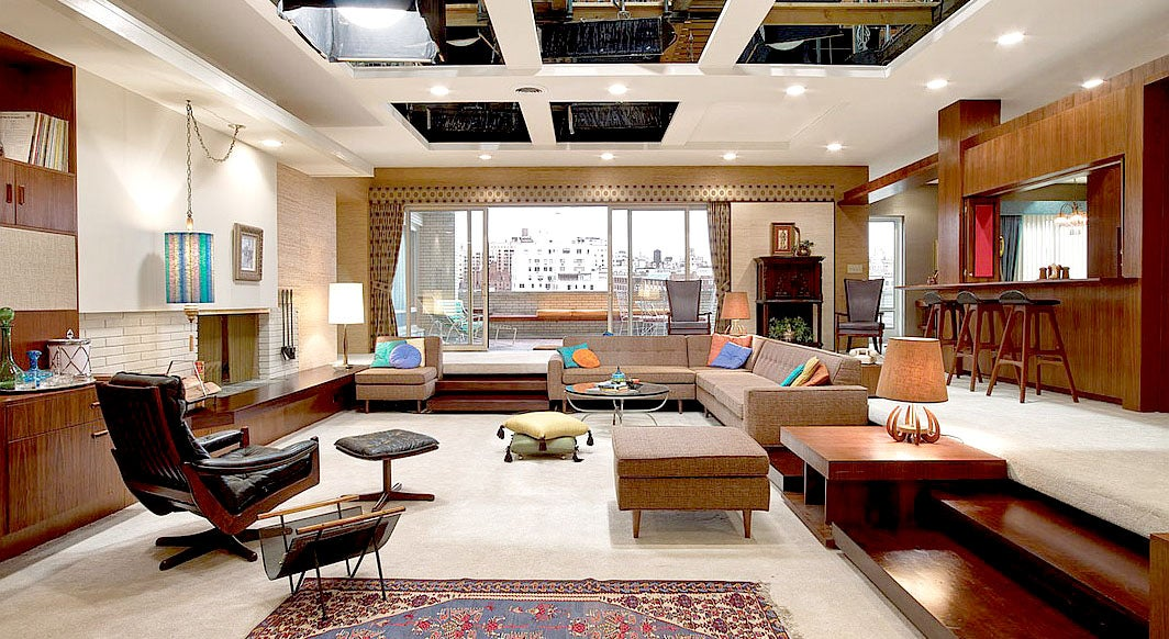 Behind-the-scenes photos reveal the secrets of Mad Men sets