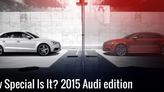 How Special Is It? 2015 Audi Edition Infographic