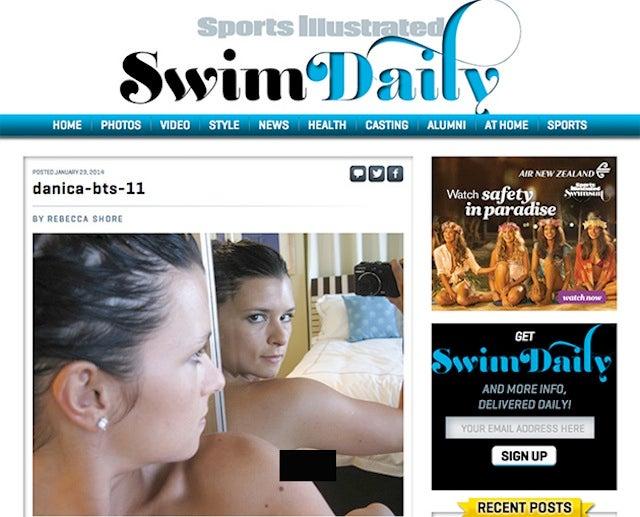 Danica Patrick's SI Nipple: A Lesson In Internet Boob Etiquette [NSFW]