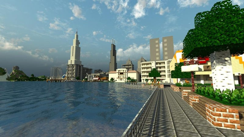 Forget Fantasy Lands, Normal Cities Look Awesome In Minecraft As Well