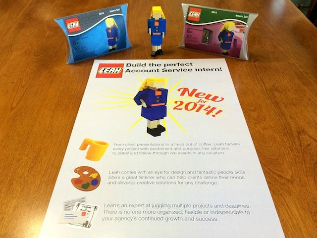 Woman Applies for Internships With a Tiny Lego Version of Herself