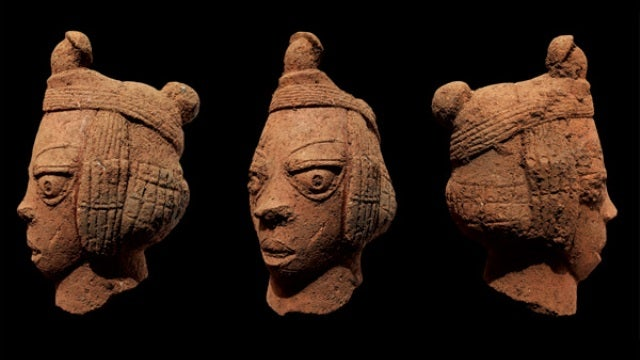 Ancient African sculpture discovered after 2,000 years in the mud
