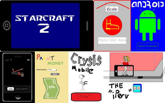 94 God Awful Iphone Apps Designed In Ms Paint