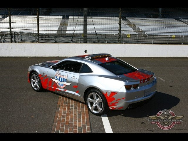 2010 Chevy Camaro Is The New Indy 500 Pace Car