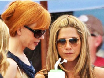 Jennifer Aniston and Nicole Kidman Are in Love