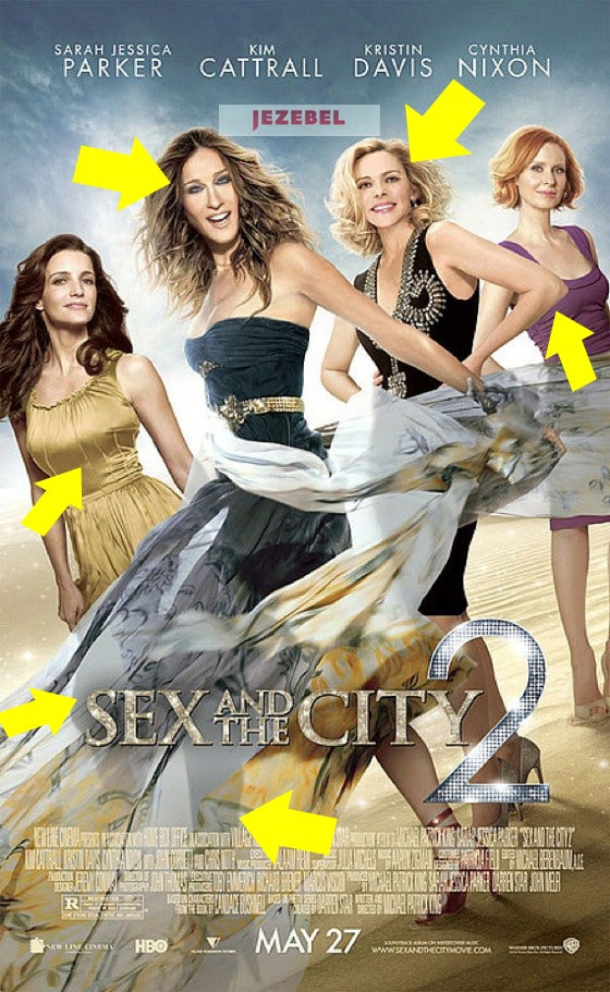 New Sex And The City 2 Poster: A Photoshop Oasis
