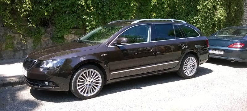 I Have A 2014 Skoda Superb 4x4 Combi For Five Days