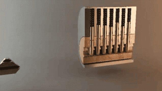 Cómo funcionan las llaves, en un sencillo GIF