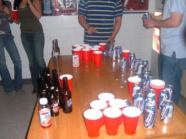 Beer Pong Video Game Predictably Nixed