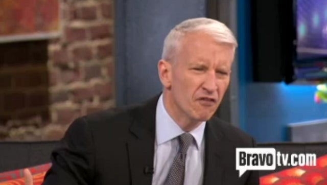 Anderson Cooper to Obnoxious Airline Passenger: 'Bitch, What Are You Doing?'