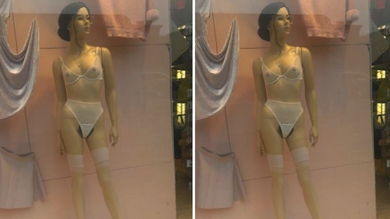American Apparel Explains Its Merkin-Clad Mannequins