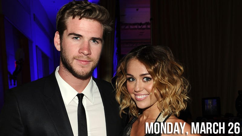 Miley Cyrus Really, Really Wants Y'all to Think She's Engaged