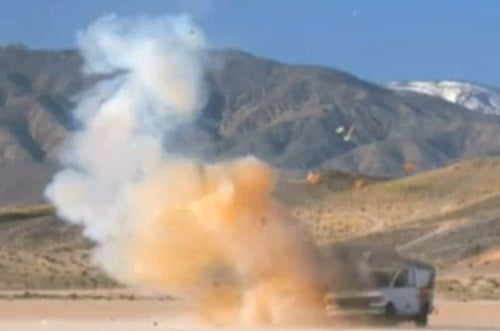 It's Effin' Science Blows Up a Van With a Sonic Boom