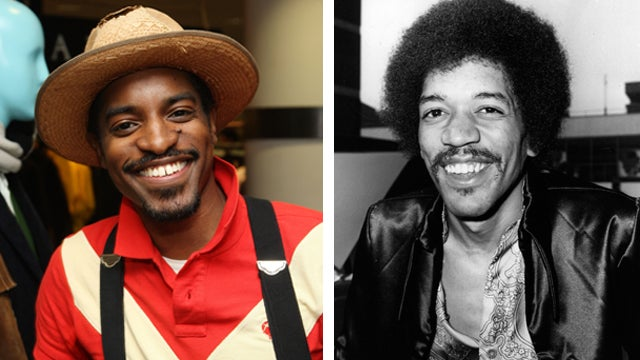 André 3000 to Play Jimi Hendrix in Biopic Even Though a Hologram Would Do the Work for Free