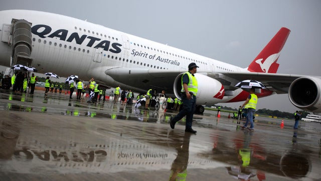 Crocodile in Cargo Hold of Qantas Aircraft Escapes During Flight