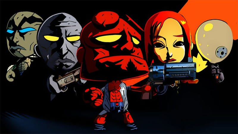 The Littlest Hellboy and Friends Join the Cast of Big Head Bash