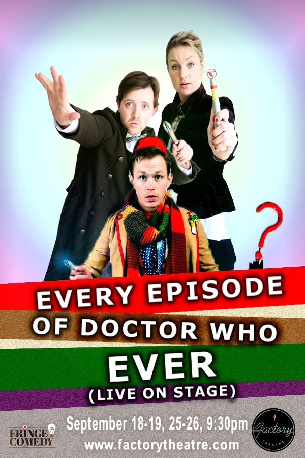 Watch every single Doctor Who episode ever, in a single hour