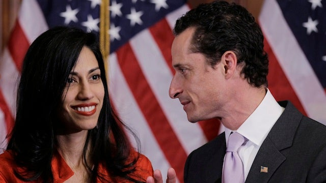 Anthony Weiner & Huma Abedin's 'Little Weiner' Born; Playground Mockery Assured