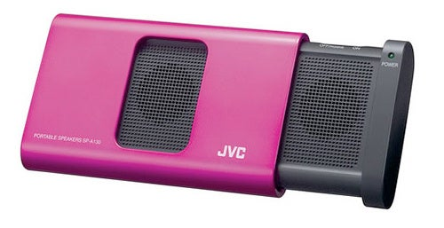 Get All Matchy-Matchy With JVC's iPod Nano SP-A130 Portable Speaker