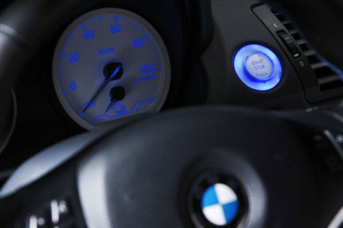 BMW ActiveE Concept: Interior Photos