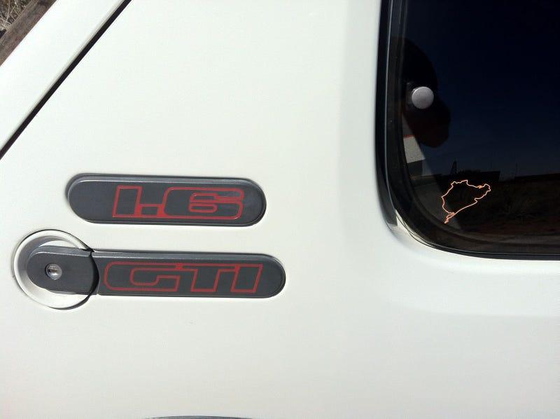 Peugeot 205 GTi Import Photos
