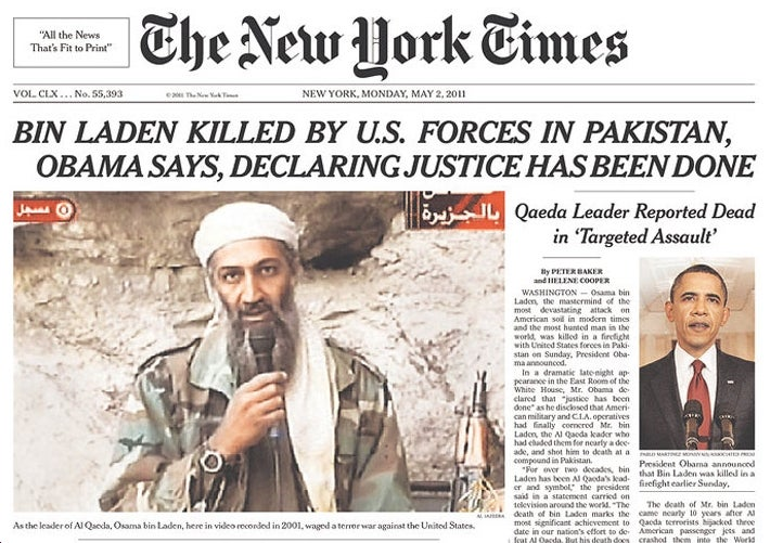 Why Does the New York Times Love Bin Laden and Hate Our Troops?