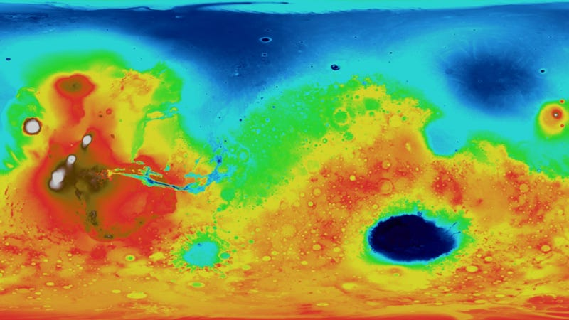 Is the Mars Ocean Hypothesis all wet?