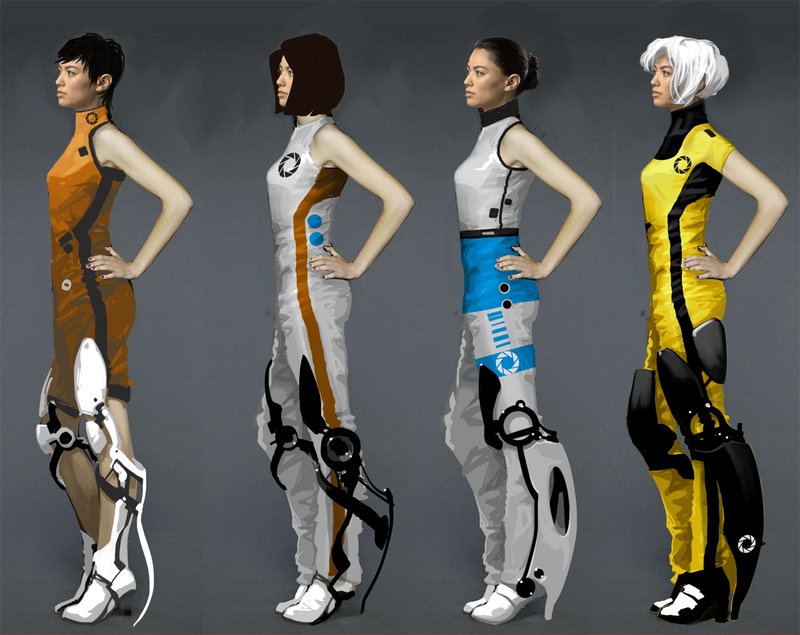 Portal 2's Starlet Certainly Looks Different In This Concept Art