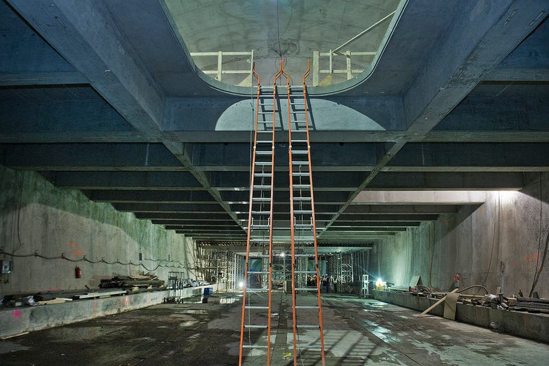Tour the Crazily Complex Skeleton of NYC's Newest Subway Line