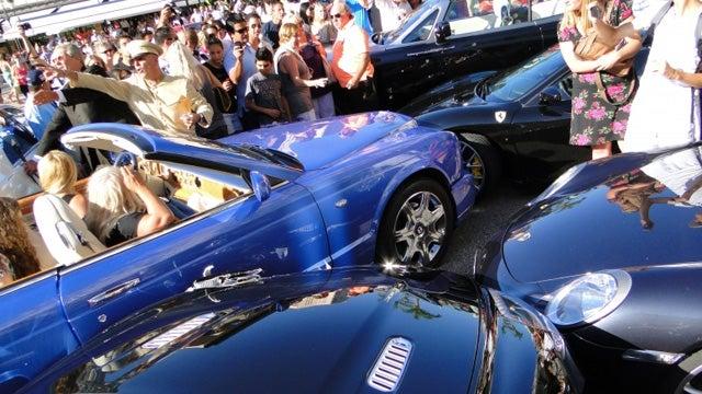 Monaco driver causes million-dollar fender bender