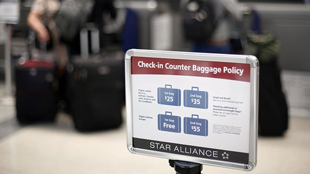 The Airlines Make a Killing Off Bag Check Fees