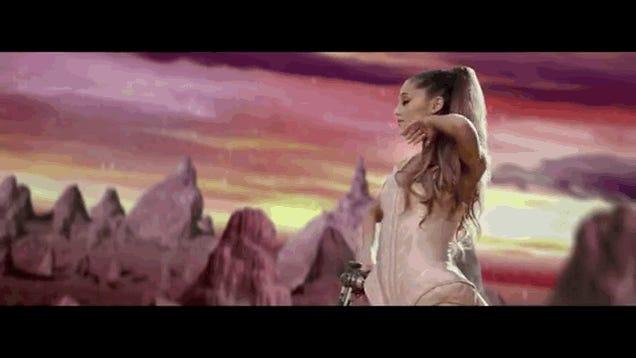 Ariana Grande's New Video Is Like Star Wars on Crack