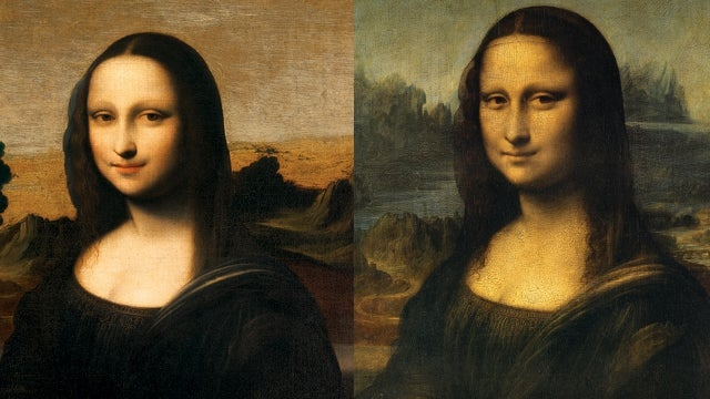 'Younger Version' of Mona Lisa Threatens to Replace Older, 'Less Happy' Version