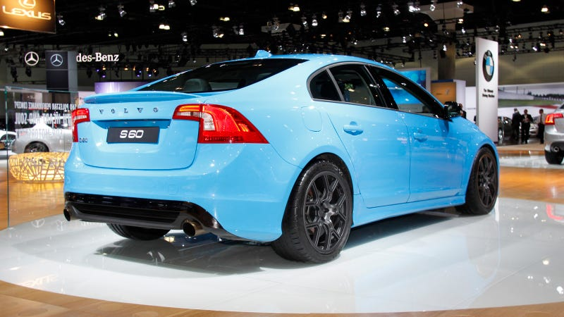 Volvo S60 Polestar Concept: The First 508 Horsepower Swedish Sexy Liveshots