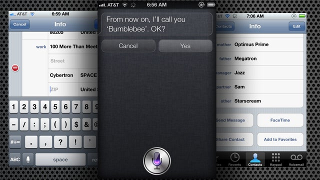 Fill Out Your Address Book to Make Siri Work Better