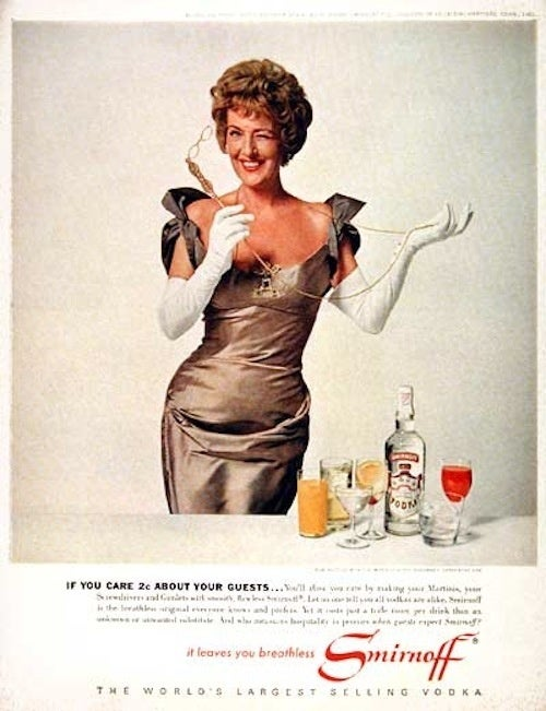 Vodka Is For Cougars; Will Renew Your Masculinity