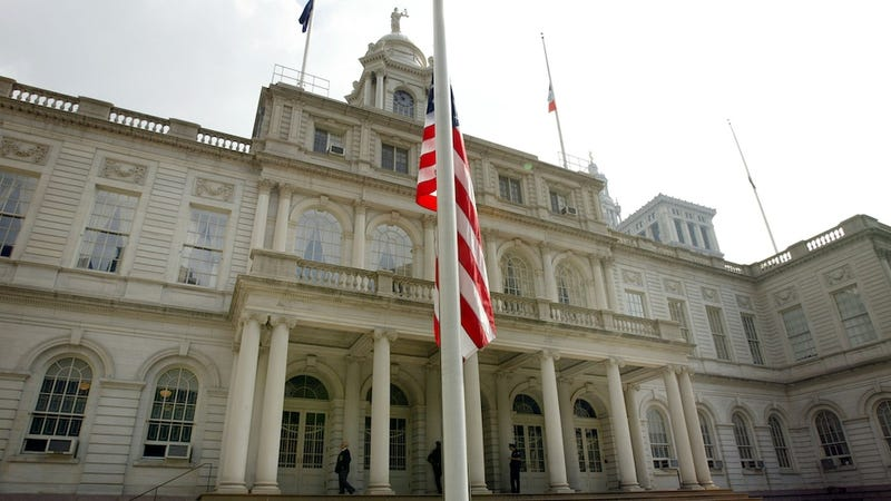Old-Timey Douche Discovered at New York City Hall