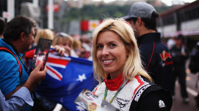 Maria De Villota Loses Eye In F1 Test Crash