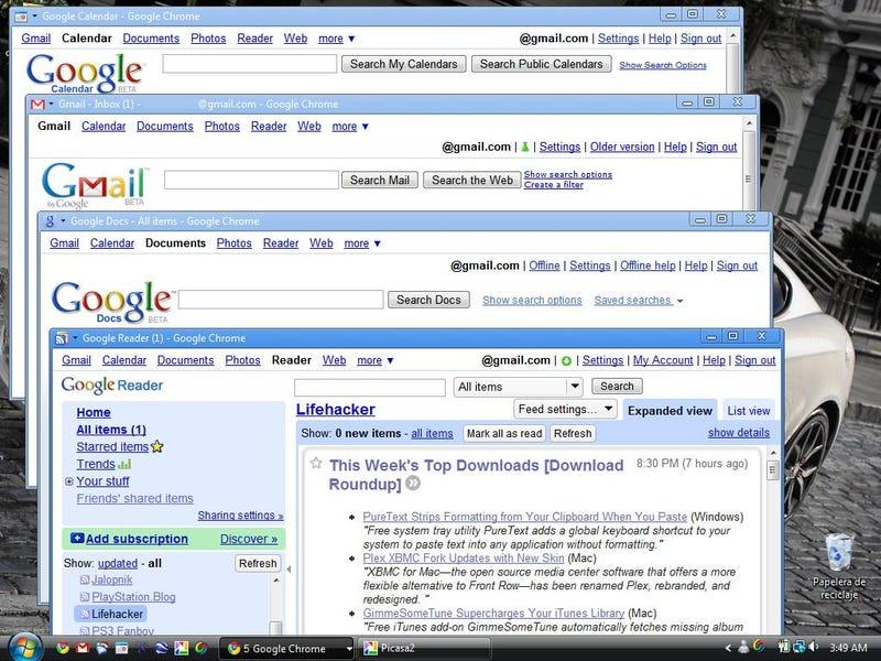 Google Apps on Vista