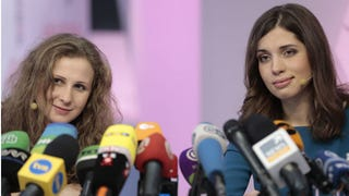 Pussy Riot Sue Russian Government in European Human Rights Court