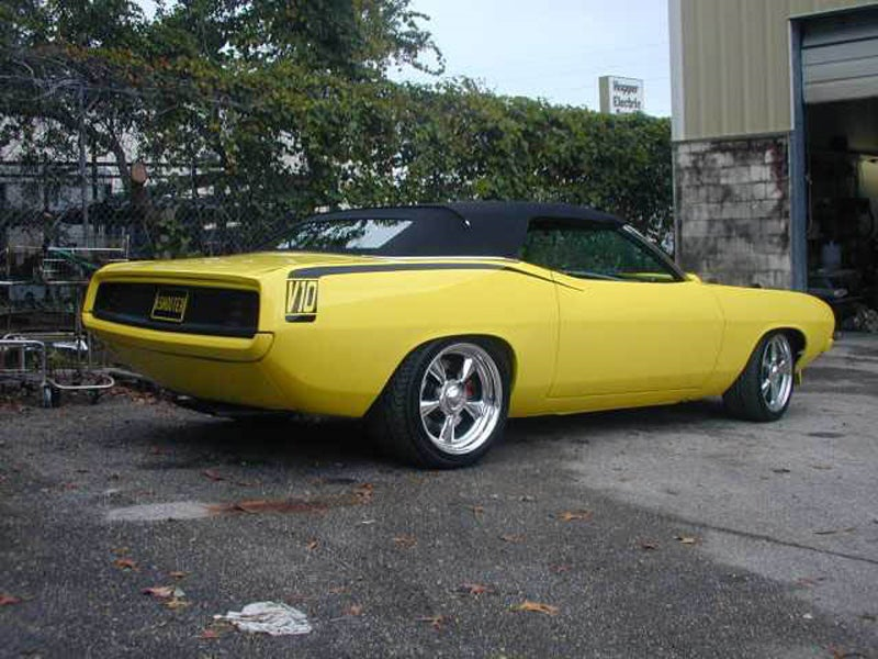 1970 Six-Shooter Barracuda