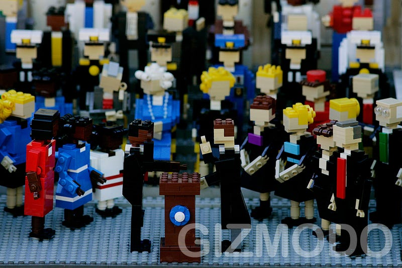Lego Obama Presidential Inauguration Brings Hope to Bricks Too