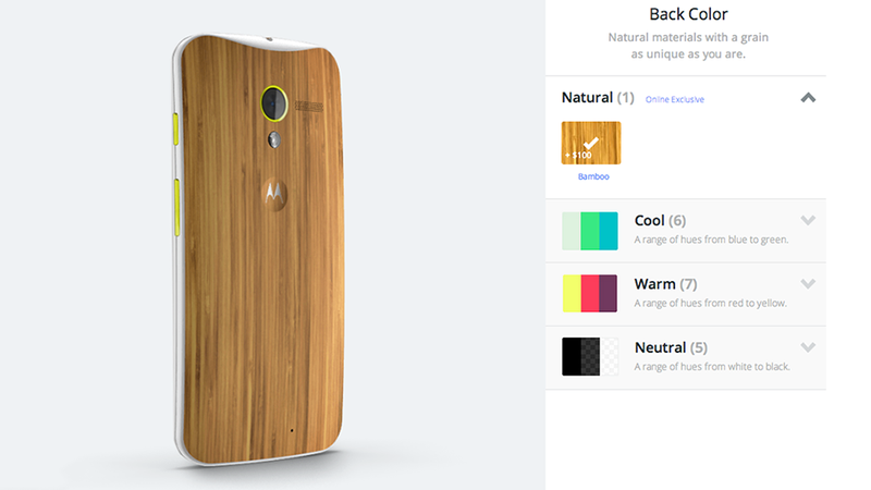 Now Available: Bamboo Back for Moto X