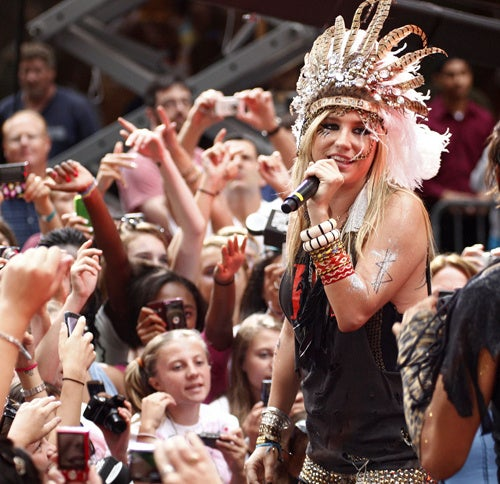 And Now, Ke$ha Will Lead Us All In A Sacred Ancient Glitter Ritual
