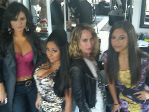 Fashion's Flirtation With The Jersey Shore Cast