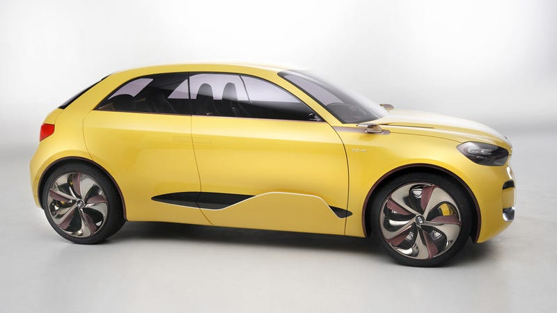 The Kia CUB Concept Is A Funky Hatch With Suicide Doors