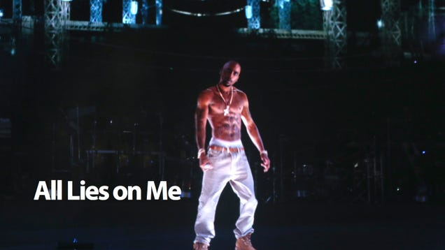 Tupac Hologram Wasn't a Hologram