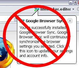 Google Browser Sync Discontinued, No Firefox 3 Support