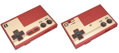 A Famicom Controller For Your Business Cards